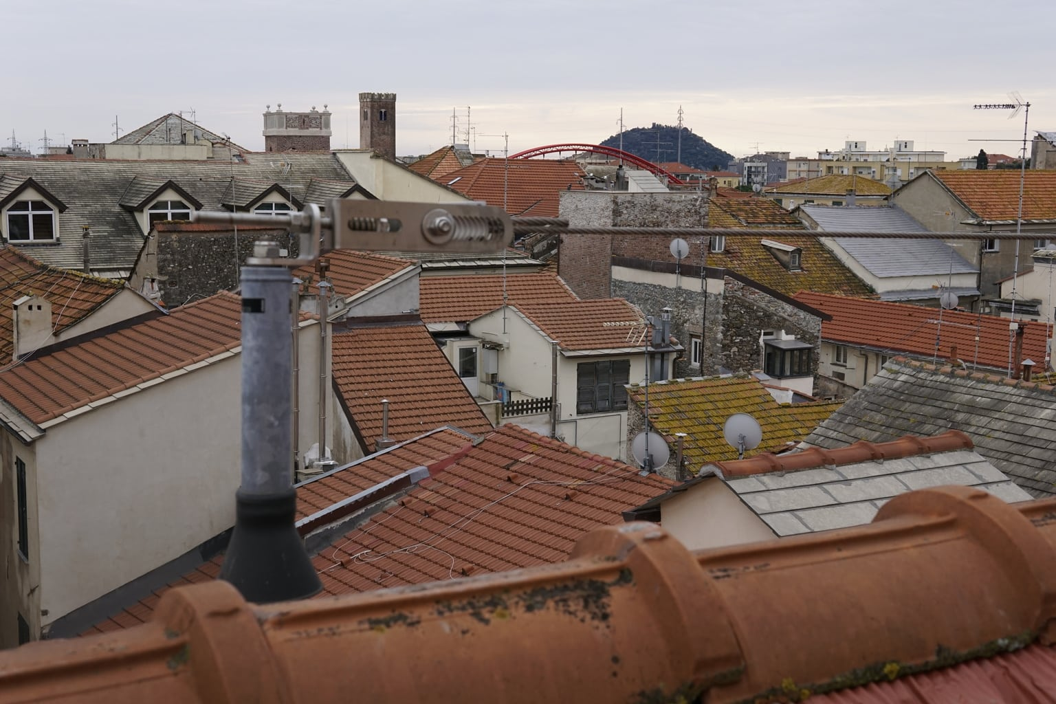 Installazione linee vita sui tetti di Albenga