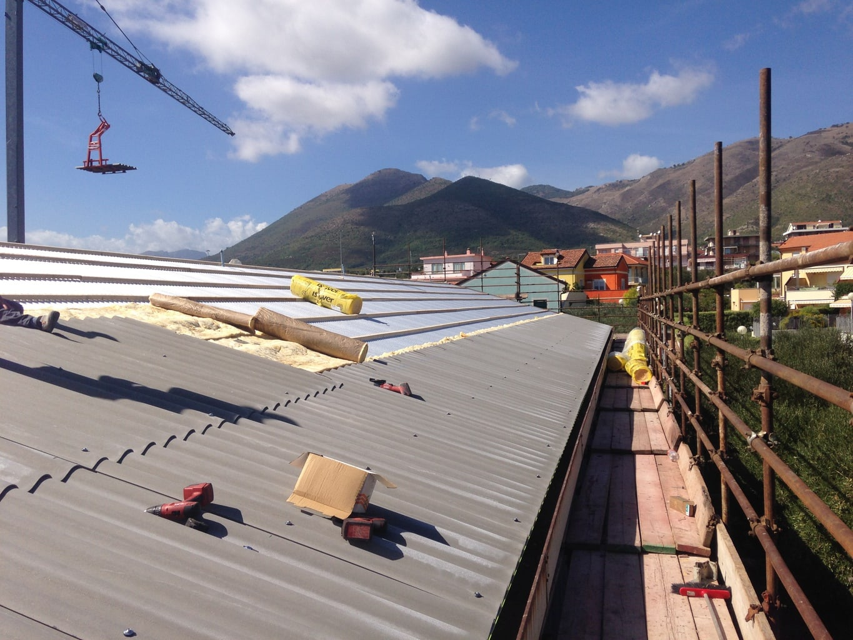 Rifacimento copertura capannone industriale